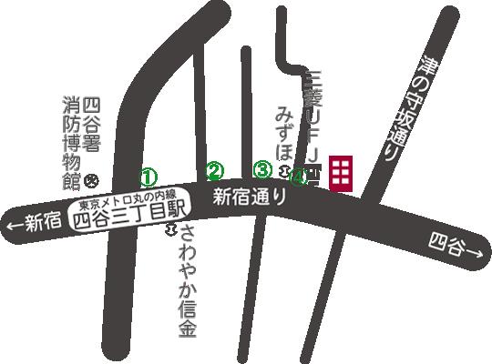 東京事務所地図